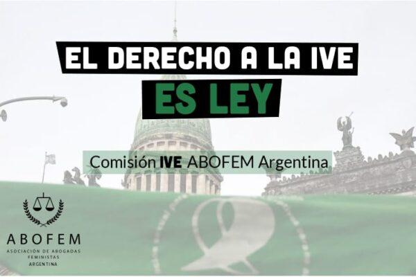 ¡EL ABORTO ES LEY!