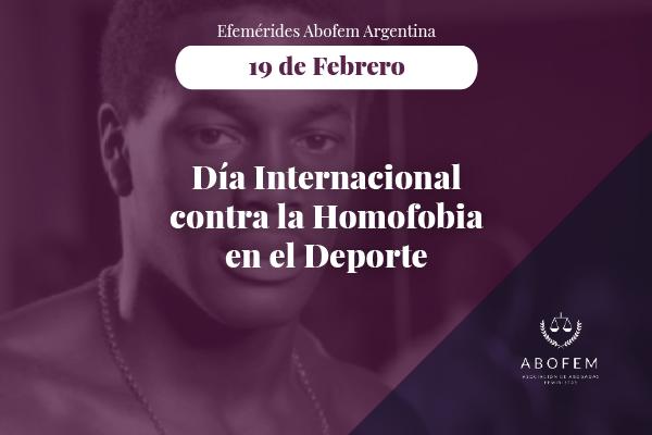 Día Internacional contra la Homofobia en el Deporte. Deconstruyamos, desbinaricemos. Comisión de Deporte, ABOFEM ARGENTINA